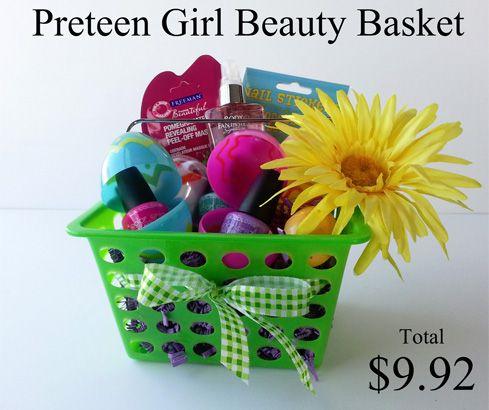 Pre teen girl easter basket idea gift ideas pinterest basket pre teen girl easter basket idea negle Gallery