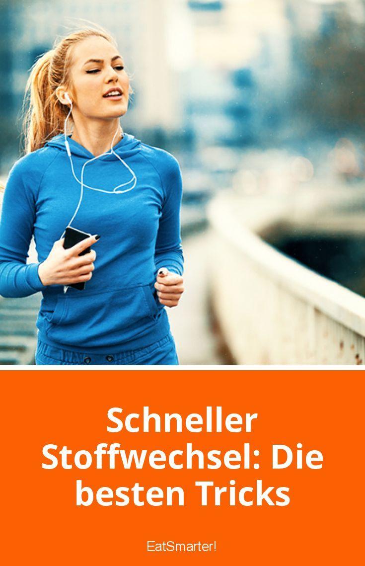 Schneller Stoffwechsel: Die besten Tricks - Schneller..