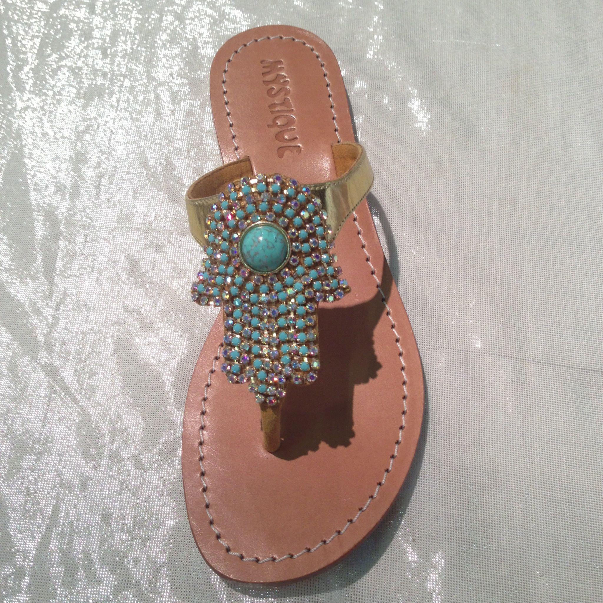 f5b74d0cbca86 Beaded Sandals  Mystique Sandals Hamsa