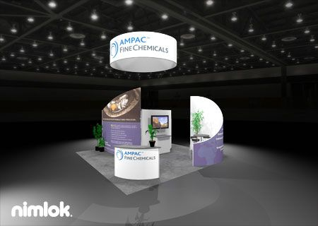 Nimlok builds and designs trade show displays and for Medical product design companies