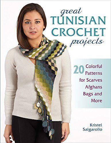 Tunisian Crochet Free Infinity Scarf Pattern   Pinterest   Tunesisch ...