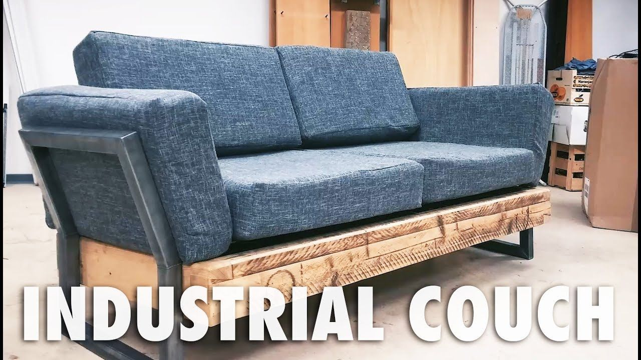 Diy Industrial Couch Diy Sofa Diy Couch Diy Furniture Couch