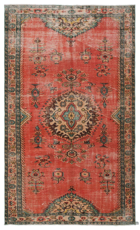 Turkish Vintage Area Rug 4 11 X 8 6 59 In X 102 In Vintage Rugs Rugs On Carpet Area Rugs