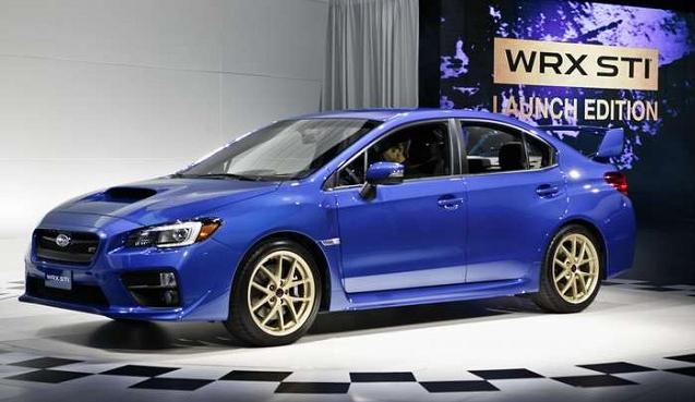 2018 Subaru Wrx Sti Exterior