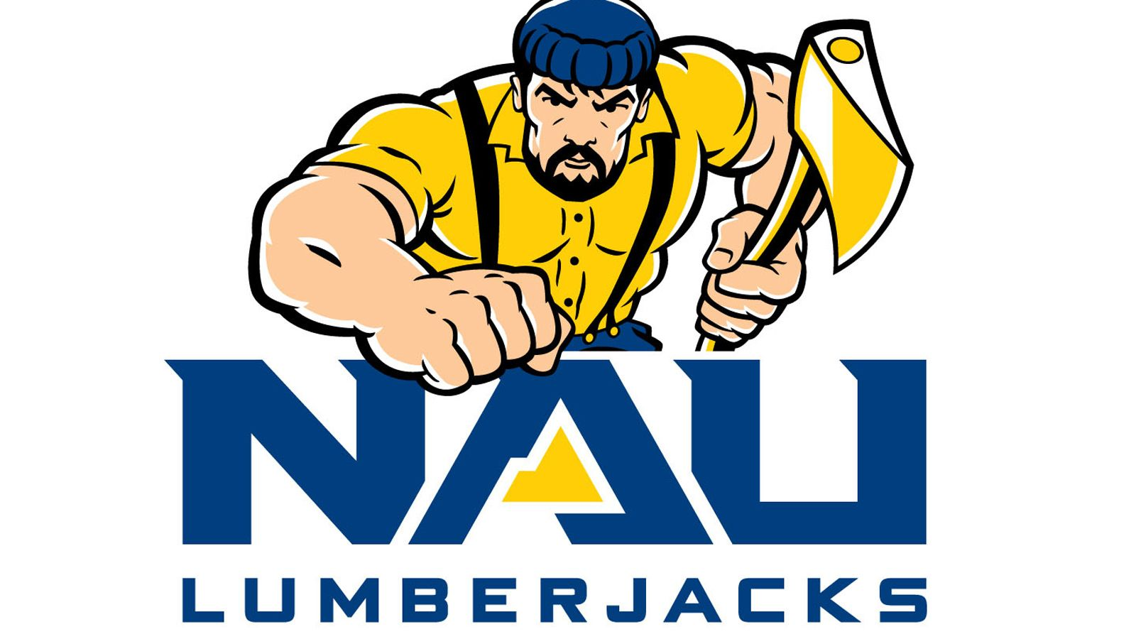 Nau Gets New Logo Gives Louie New Look Northern Arizona