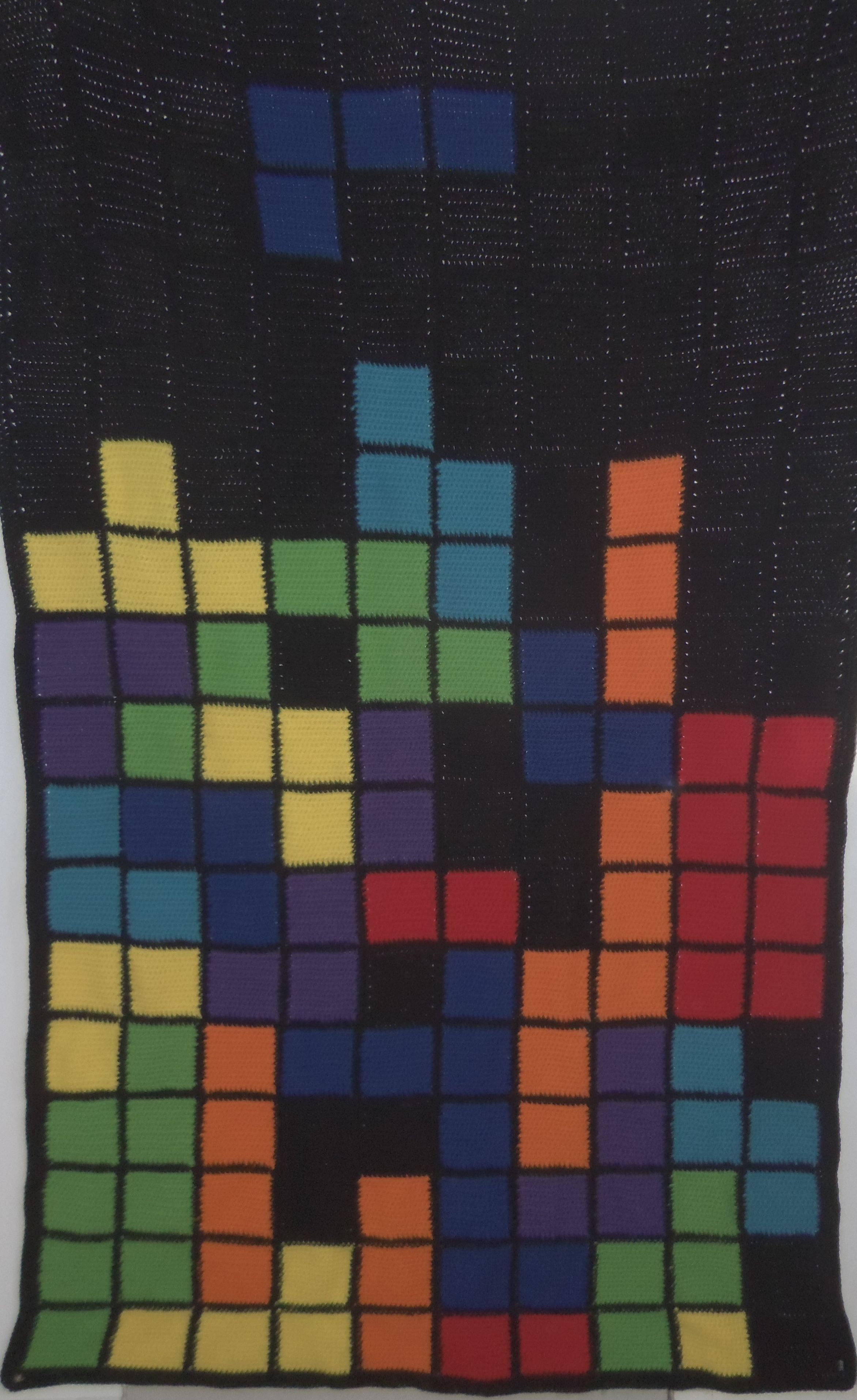 Tetris blanket twin size my crochet creations pinterest tetris blanket twin size dt1010fo