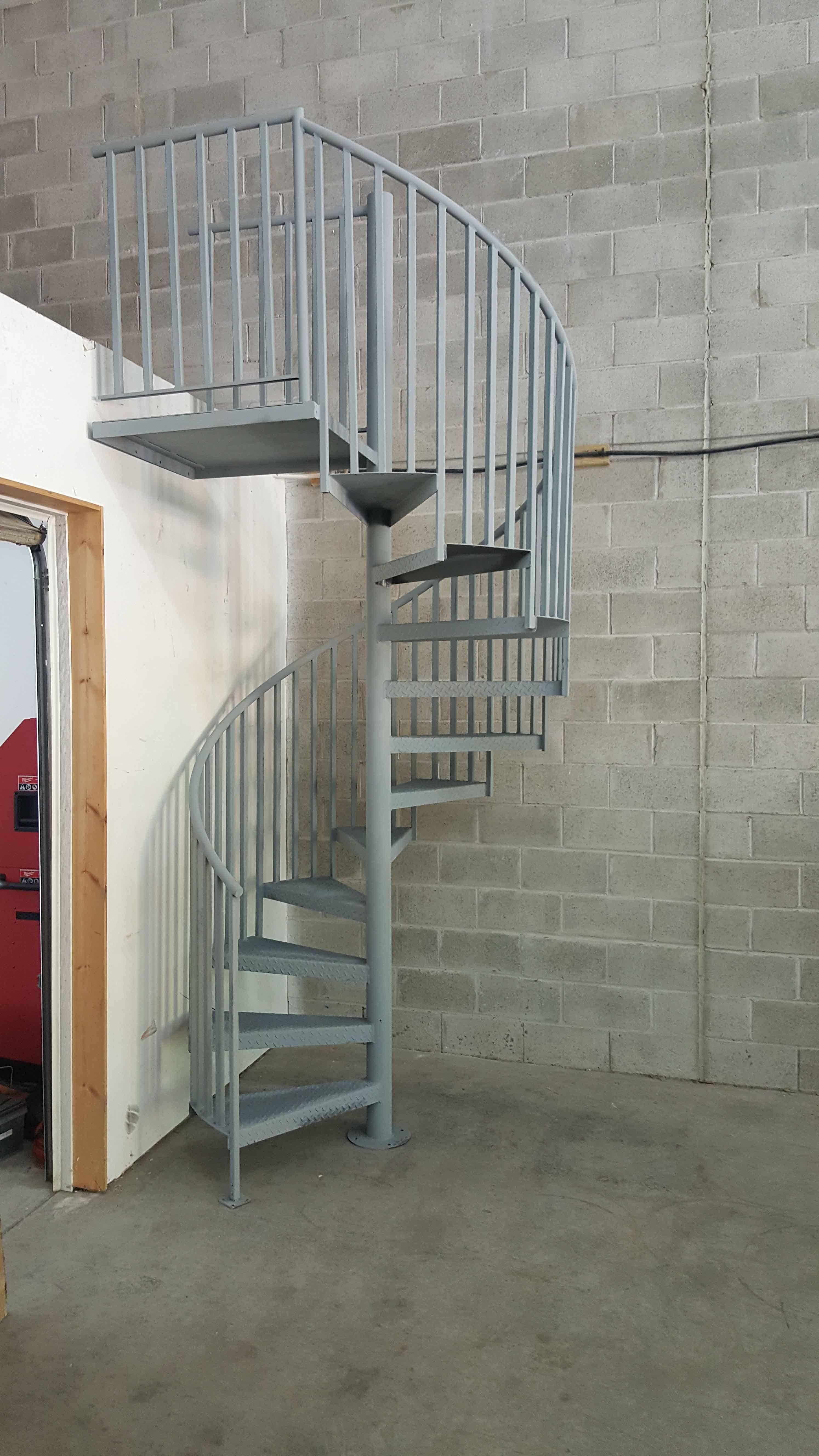 Best Interior Spiral Staircase Grey In 2020 Spiral Staircase 400 x 300
