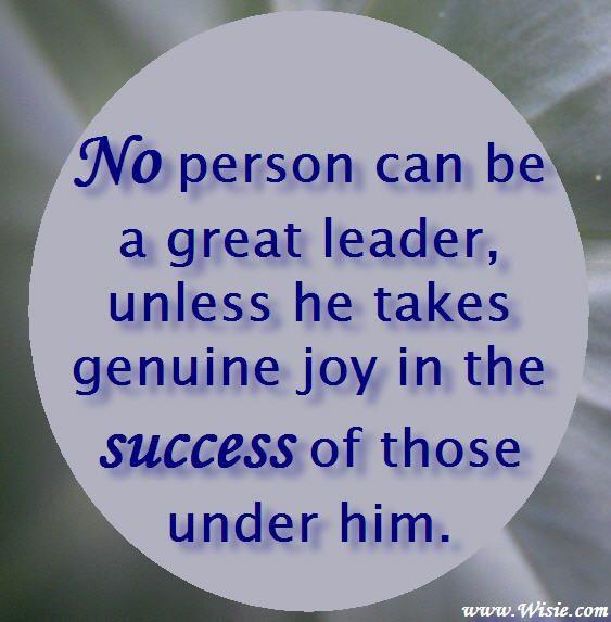 successful leader definition