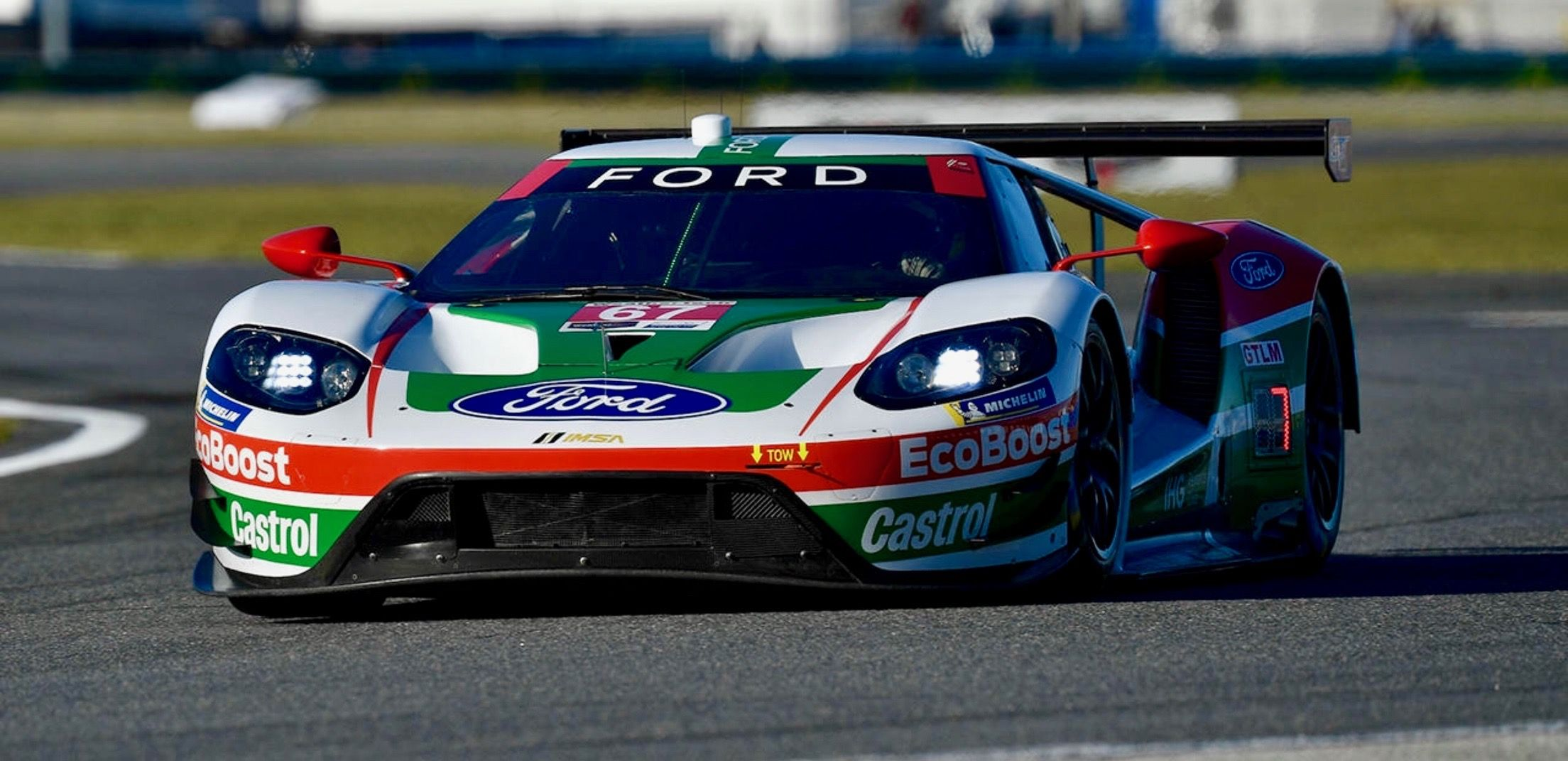 2019 Rolex 24 At Daytona Ford Gt Gtlm Retro Livery Ford Gt