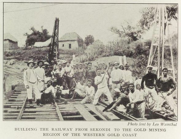 000 Colonial powers developed railroad systems between the