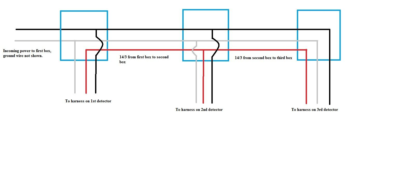 Wiring Smoke Detectors Uk - Custom Wiring Diagram •