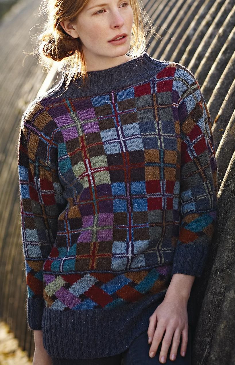 Free Knitting Pattern for Islay Sweater - #ad Love the colorwork on ...