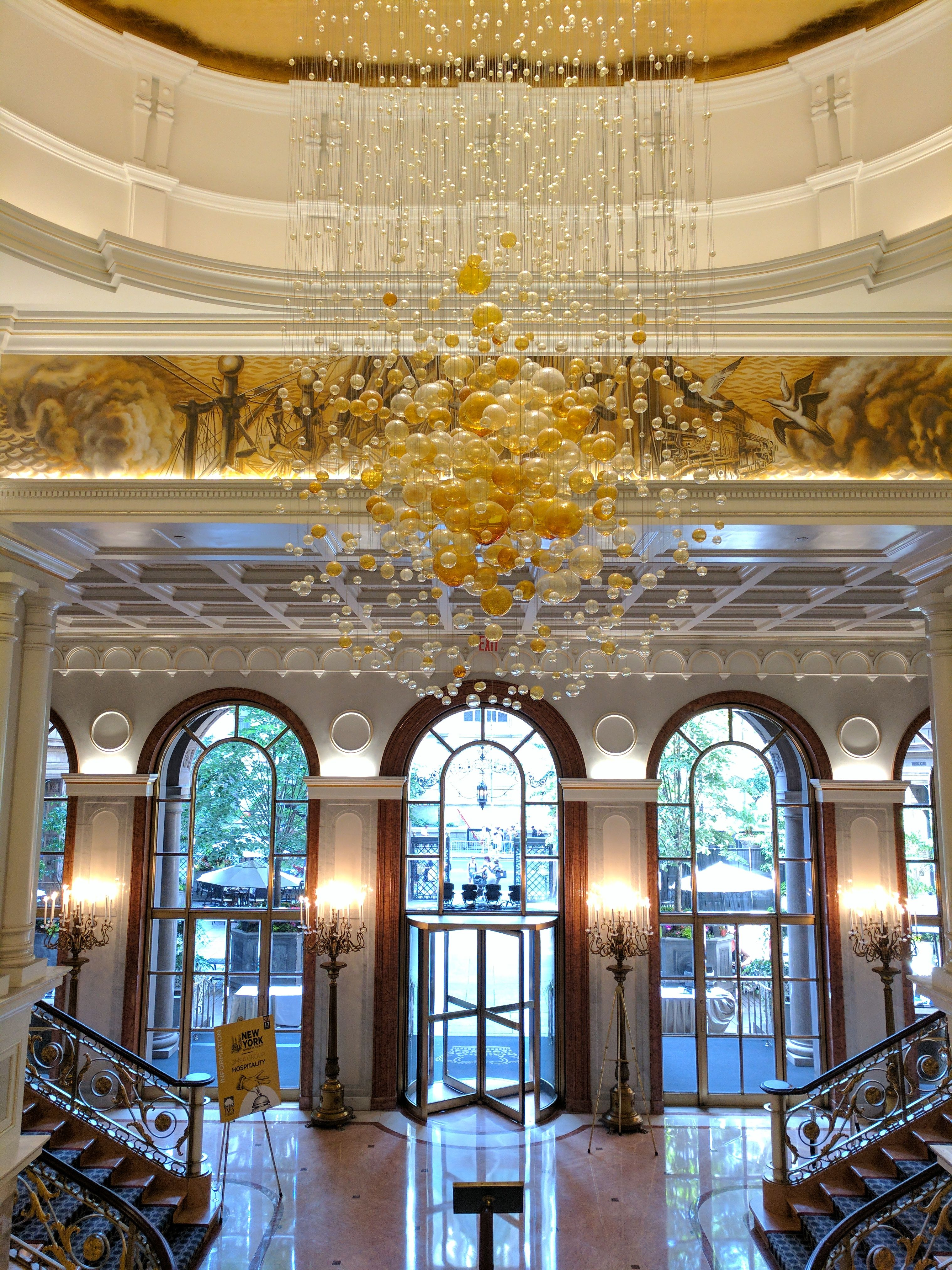 Brunch at the famous Lotte New York Palace   New york, Palace, House