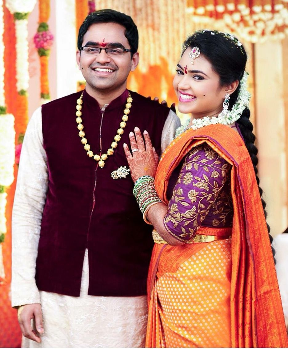South indian wedding janaki pinterest south indian bride