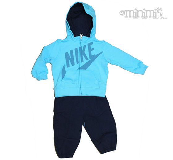 c6ad731ddad Tenues Pour Bébé Garçon · Nike YA76 Limitless Survêtement bébé à capuche -  Turquoise et marine Le survêtement Nike YA76 limitless
