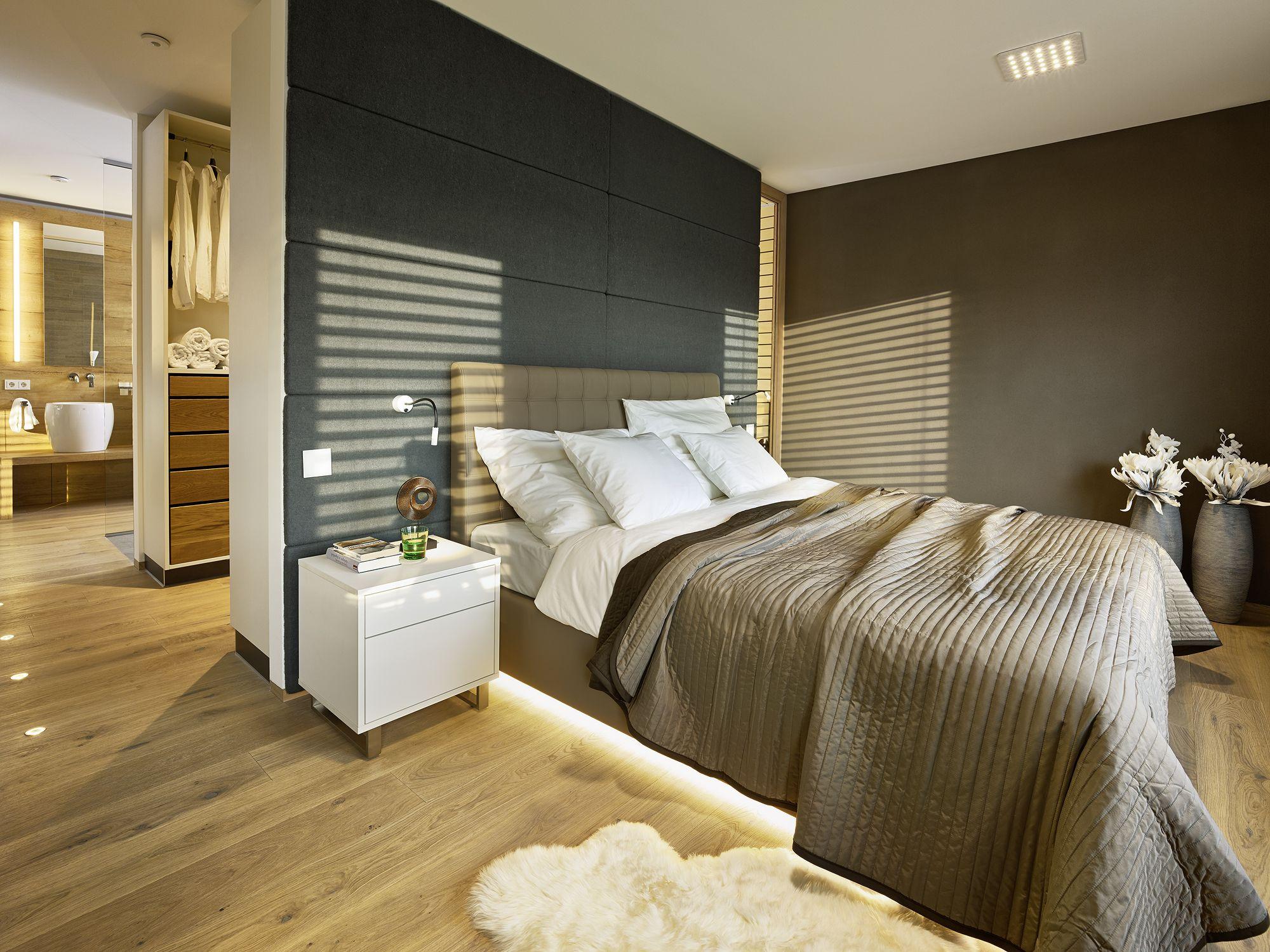 Schlafzimmerideen für das Smart Home #loxone #homautomation #hausautomation #softwaredesign