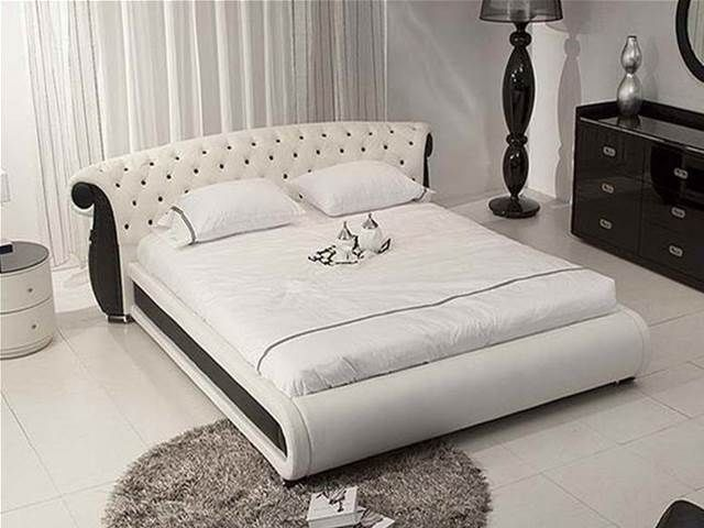 leather tufted headboard - Bing Images Furniture Pinterest