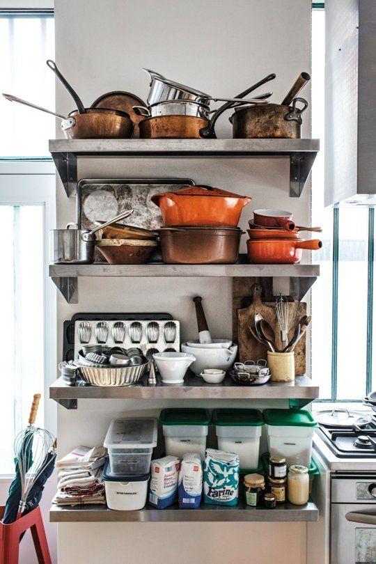 How I Organize My Kitchen Shelves: David Lebovitz U2014 Organizing Tips From  The Experts