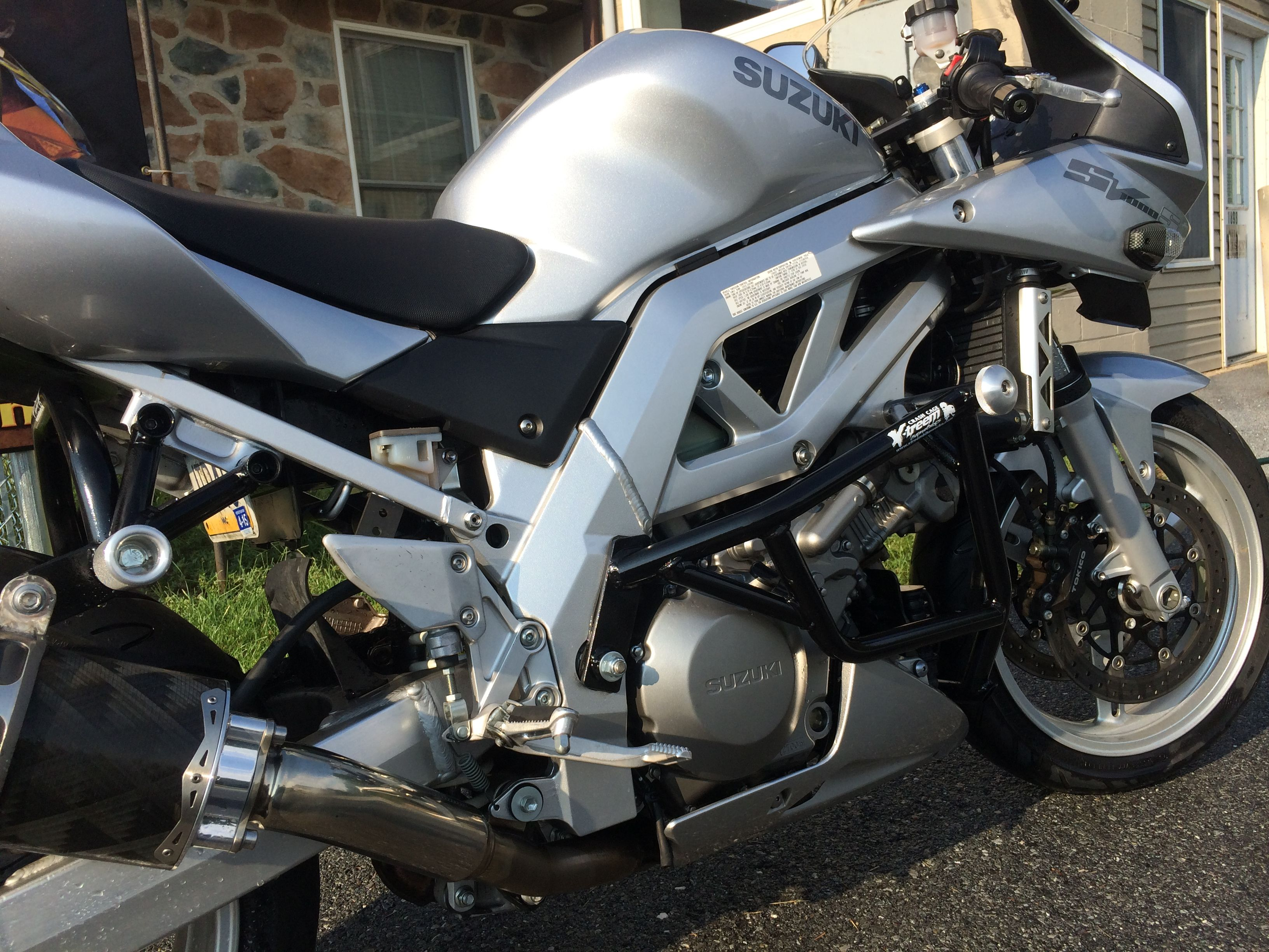 Suzuki sv1000 some companys say is it worth it to cage the sv650 and sv1000 xtreembikeworks