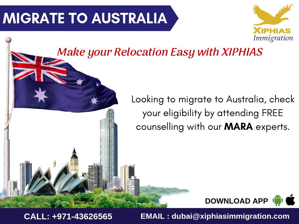 Migrate to Australia XIPHIAS Australia immigration