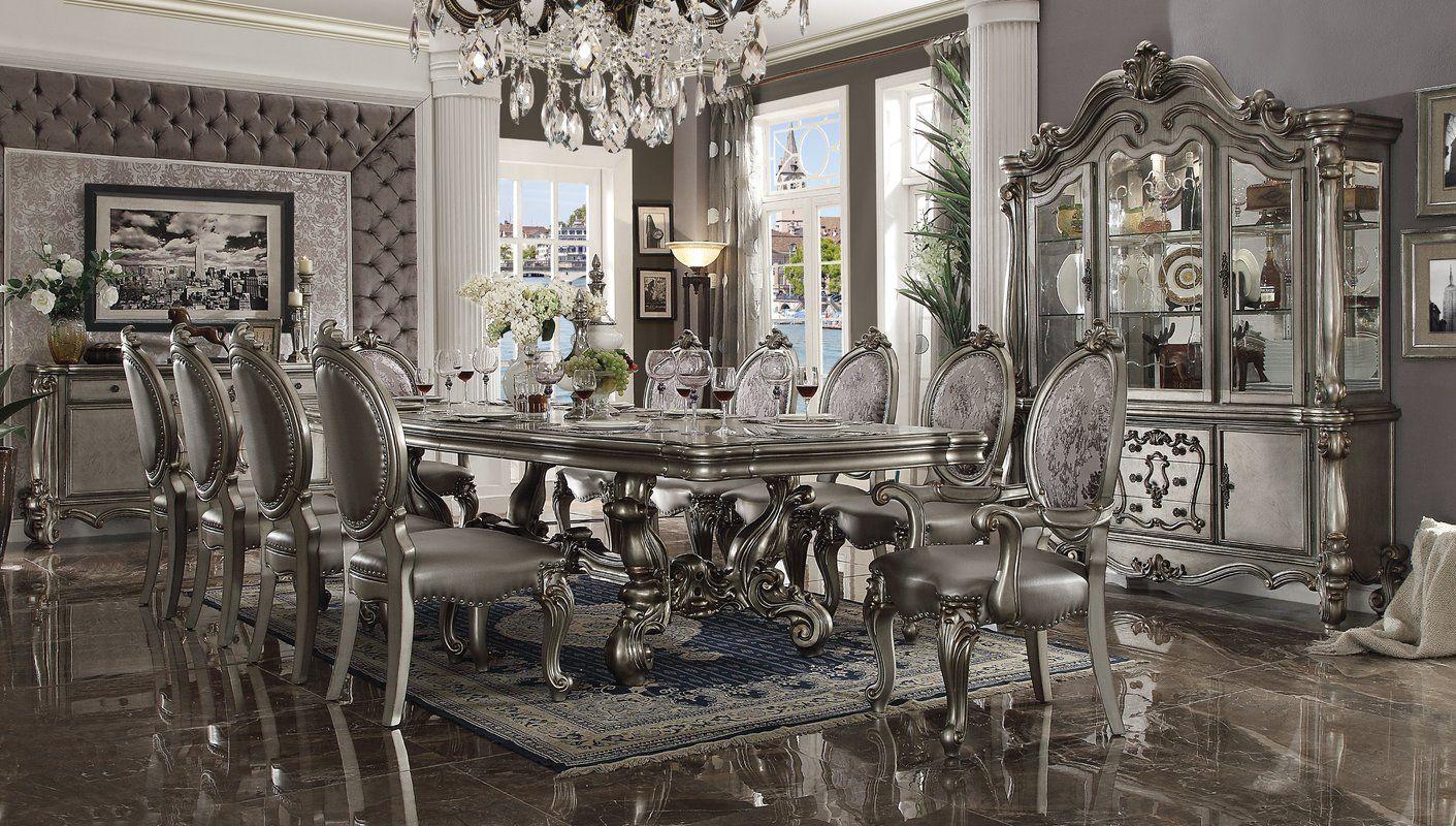 Astoria Grand Welton Lighted China Cabinet Wayfair Formal Dining Room Sets Dining Room Sets Dining Room Design
