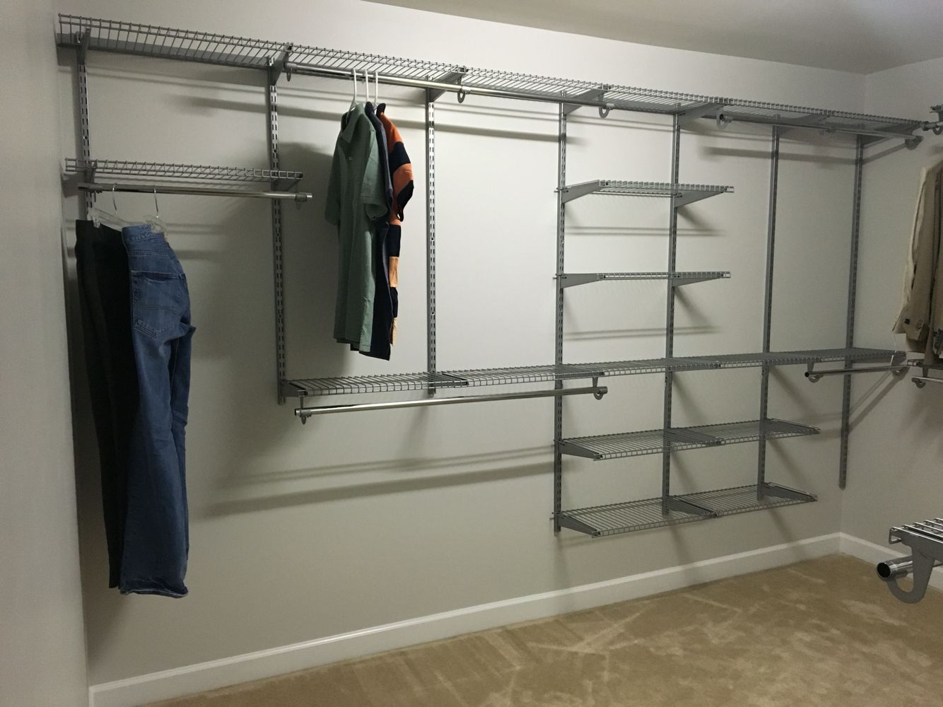 Rubbermaid Configurations Homefree Closet System Rubbermaid