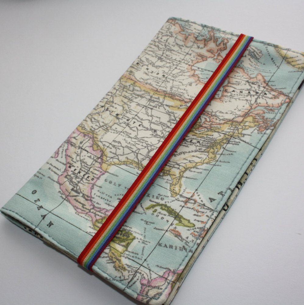 World map travel wallet passport holder travel organizer world map travel wallet passport holder travel organizer organizer gumiabroncs Images