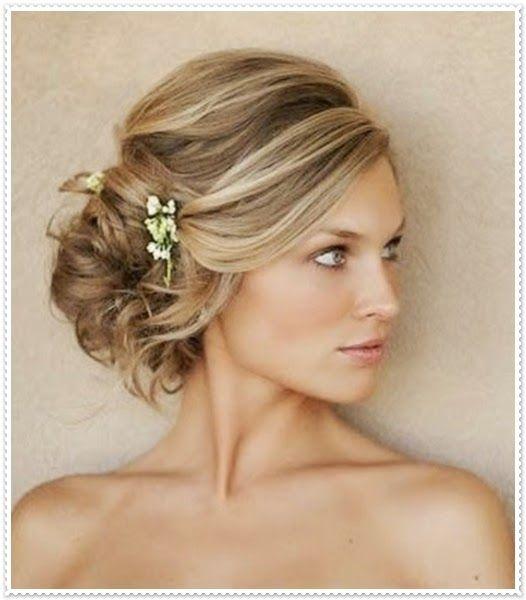 Abendfrisuren Fur Kurze Haare Frisuren In 2019 Frisur Hochzeit