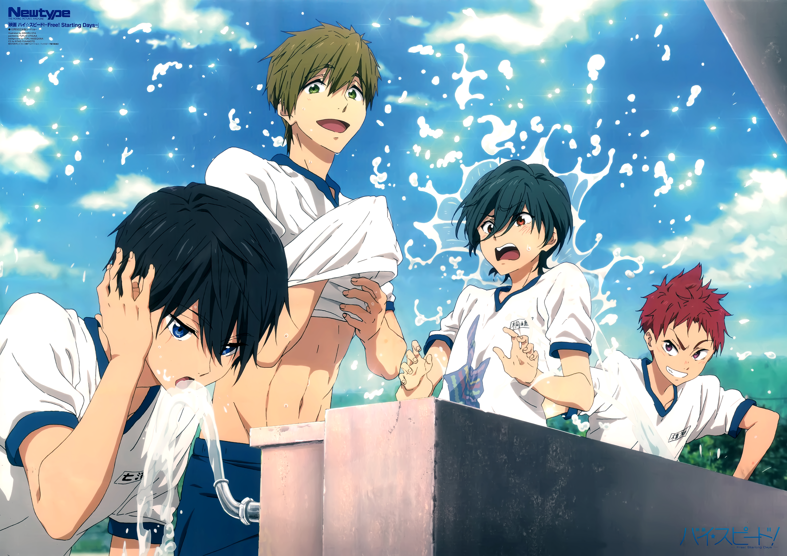 Free Computer Wallpapers Desktop Backgrounds 2560x1808 Id 721557 Free Anime Anime Free Iwatobi