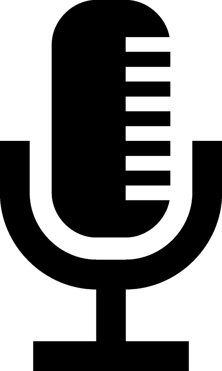 Free Image On Pixabay Icon Microphone Radio Broadcast Vector Design Icon Clip Art