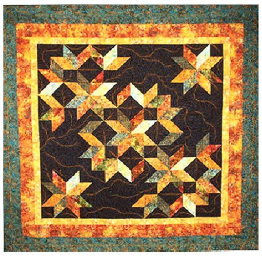 Quilt Pattern - Calico Carriage - Cosmic Jewels | Quilt ... : calico carriage quilt designs - Adamdwight.com