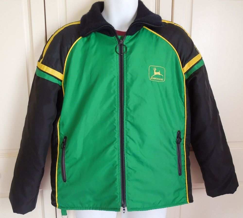 70s 80s Vintage John Deere Snowmobile Jacket Mens Coat Sz