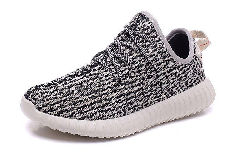 2016 Adidas Yeezy Boost 350 Women Running Shoes gray white black