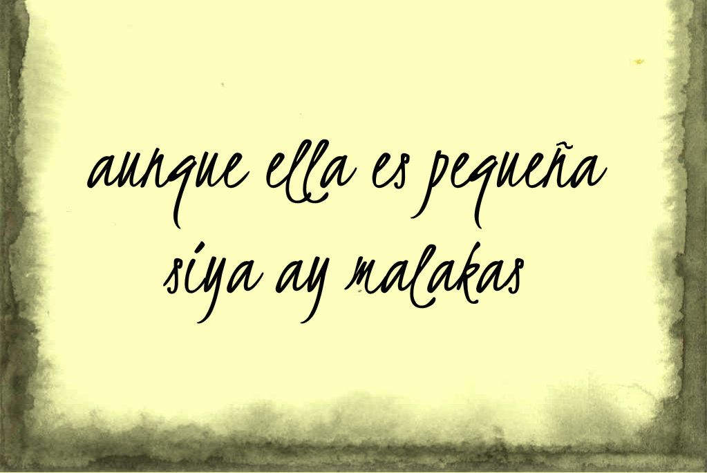 Imperfection in tagalog
