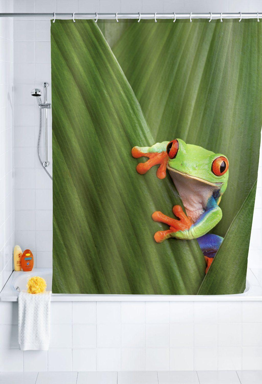 Frog Duschvorhang Duschvorhang Vorhange Dusche