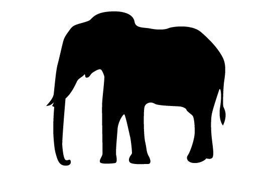 elephant silhouette vector silhouette clip art art pinterest rh pinterest co uk  baby elephant silhouette vector