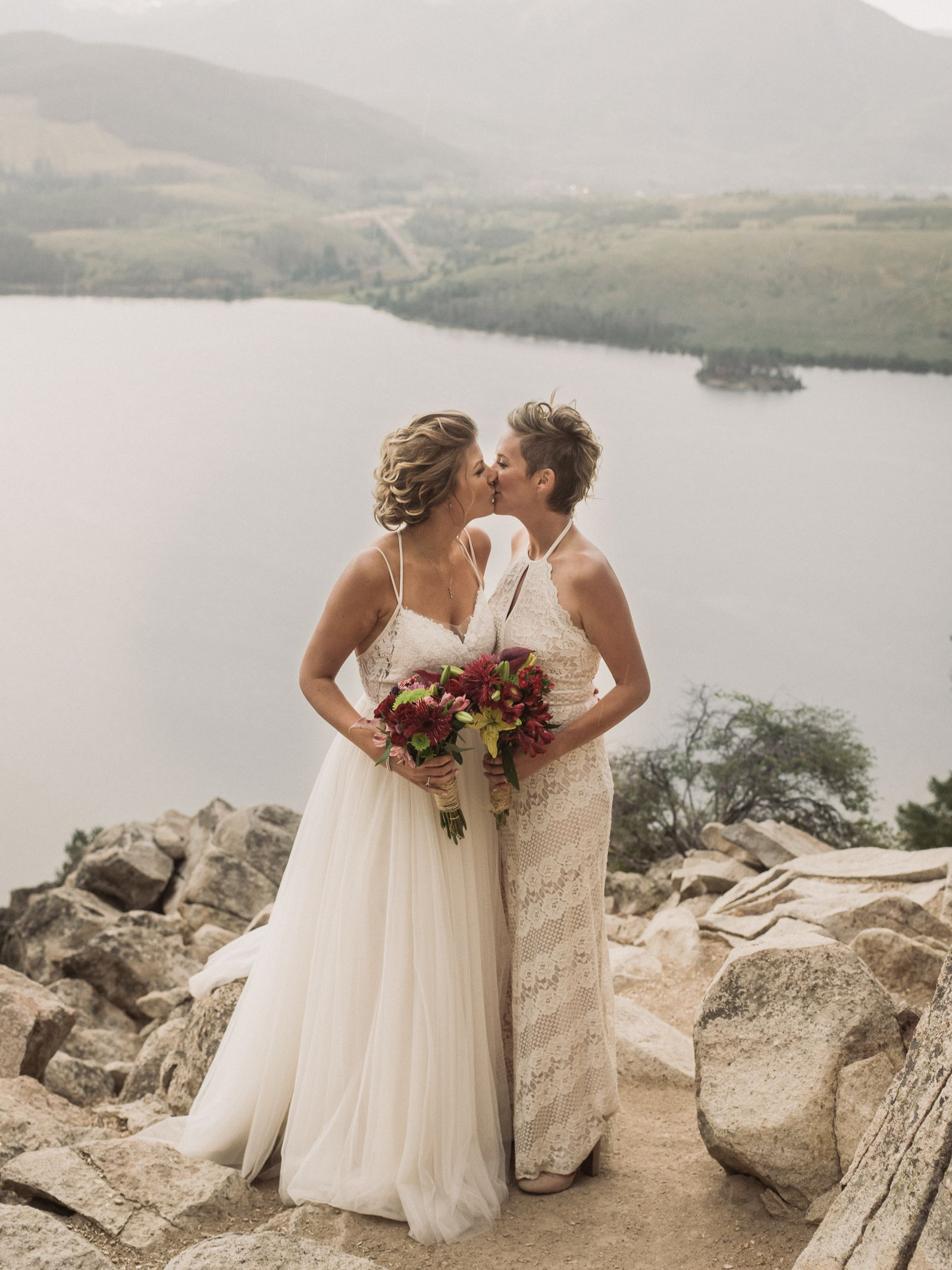 Mountain Wedding at Sapphire Point in Dillon, Colorado
