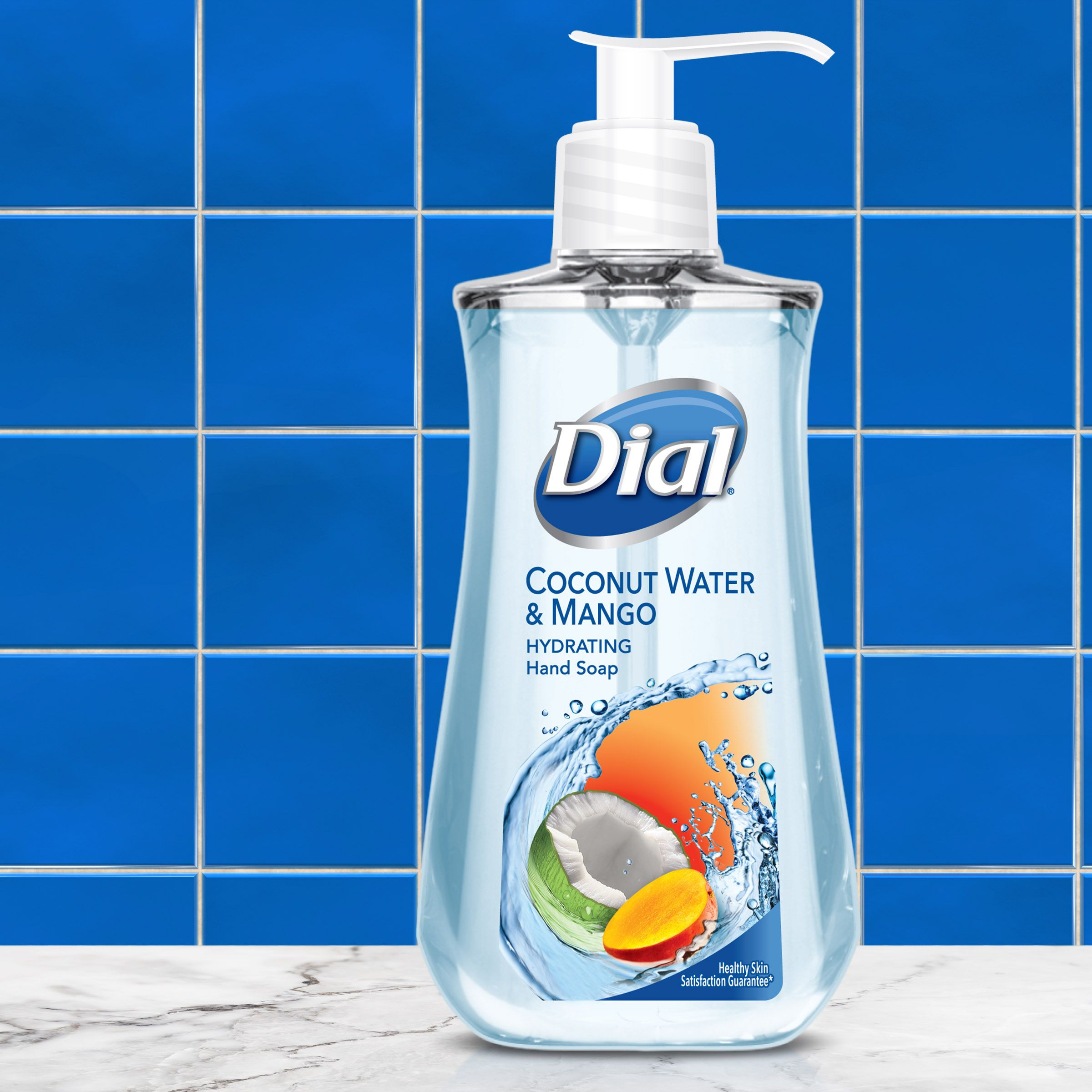 Dial Liquid Hand Soap With Moisturizer Coconut Water Liquid