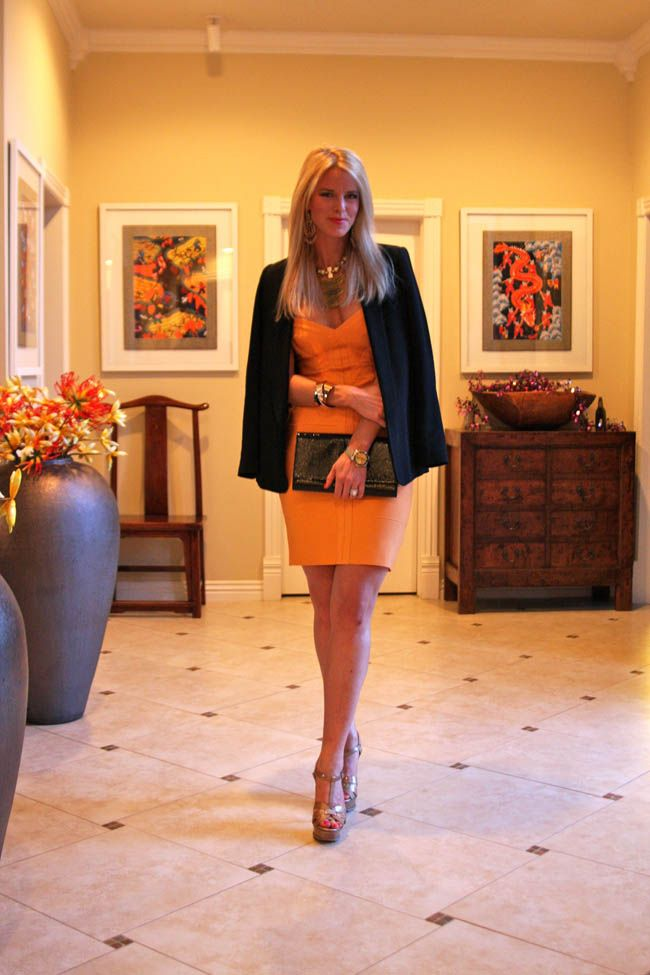 {New outfit post} Tangerine