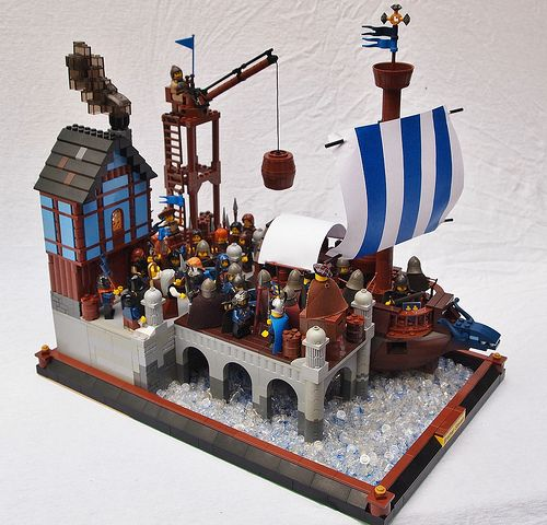 Lego A Gallery On Flickr With Images Pirate Lego Cool Lego