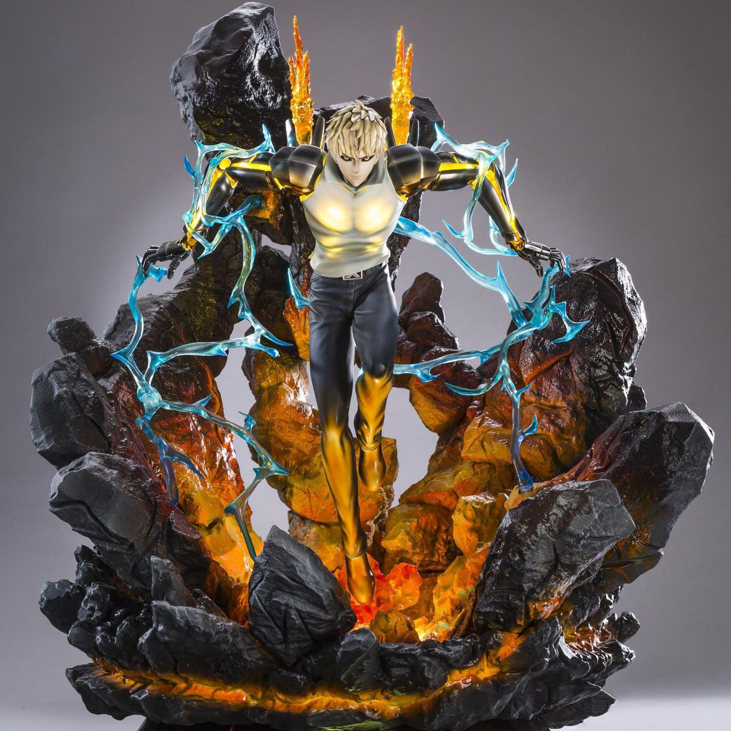 Genos hqs by tsume one punch man one punch anime figurines