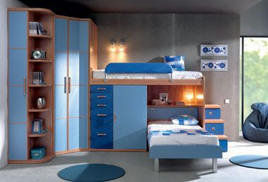 Dise os de dormitorios para ni os salud y ejercicio pinterest dormitorios dormitorios - Disenos de habitaciones infantiles ...