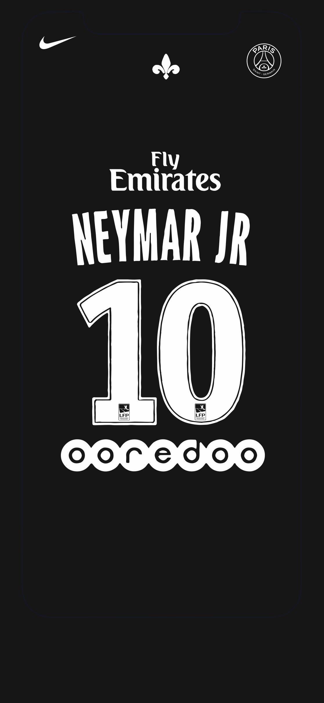 neymar jr iphone x wallpapers