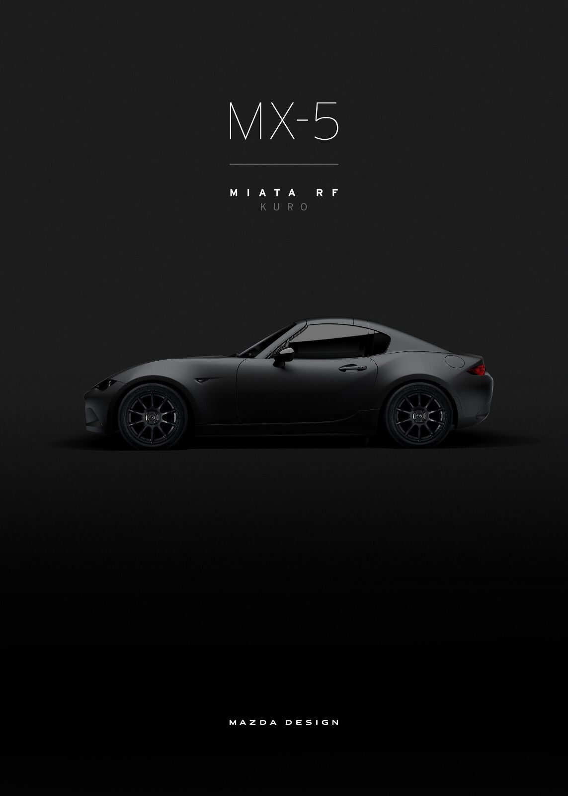 Mazda Mx 5 Rf Kuro Mazda Wallpaper News Mazda Pinterest