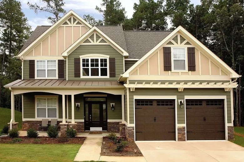 53 Exterior Paint Colors For House With Brown Roof Godiygo Com Exterior Paint Colors For House House Paint Exterior House Exterior