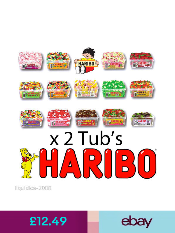 HARIBO Soft/ Chewy Sweets ebay Home, Furniture & DIY