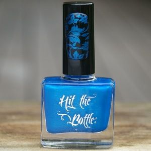 "Hit the Bottle ""Blue-tiful"" Stamping Polish"