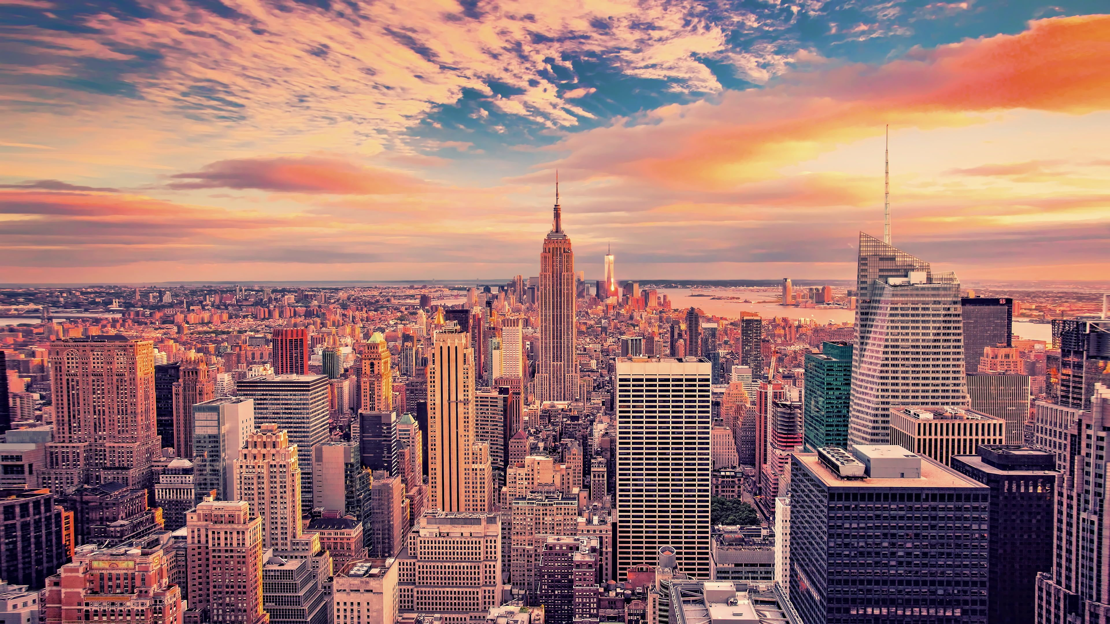 Empire State Building New York Aerial Photography Of Empire Stat Laptop Wallpaper Desktop Wallpapers New York Wallpaper Computer Wallpaper Desktop Wallpapers