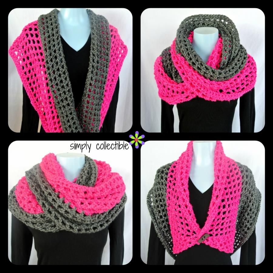 Free pattern - Coraline in San Francisco cowl wrap - Crochet ...