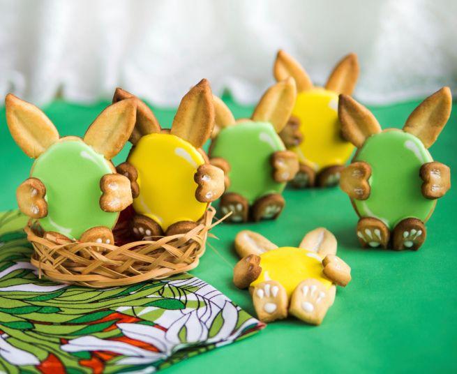 Biscotti coniglietti pasquali